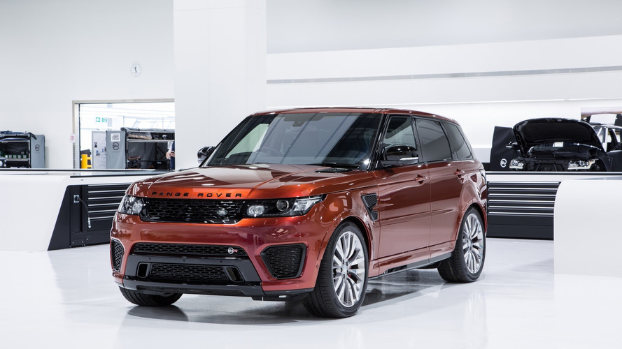 Jaguar Land Rover to launch one new SVR model per year until 2020