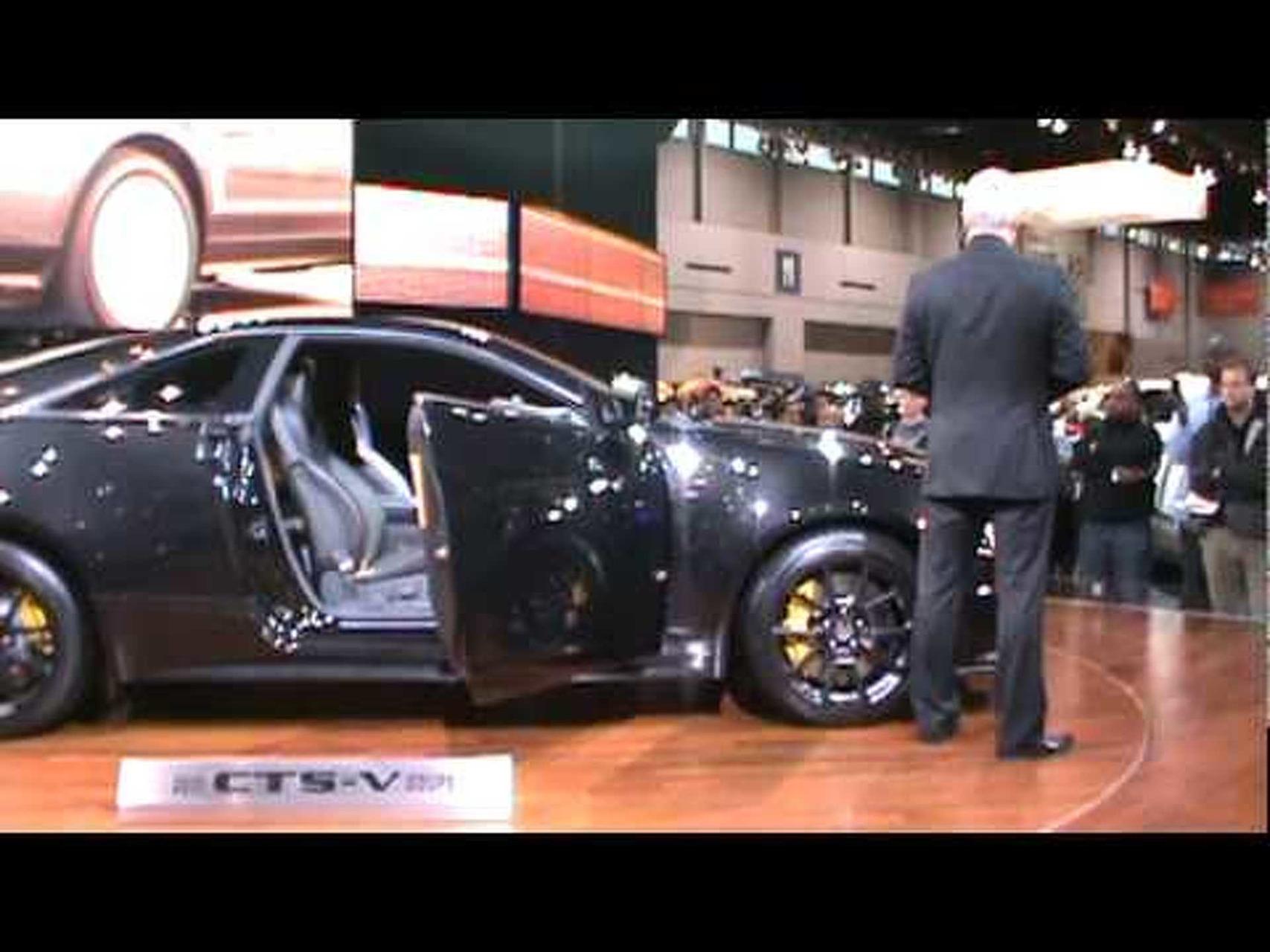 2011/2012 Cadillac CTS-V (Black Diamond)