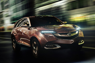 2013 Acura SUV-X Concept Ditches the Shield Grille, Thankfully