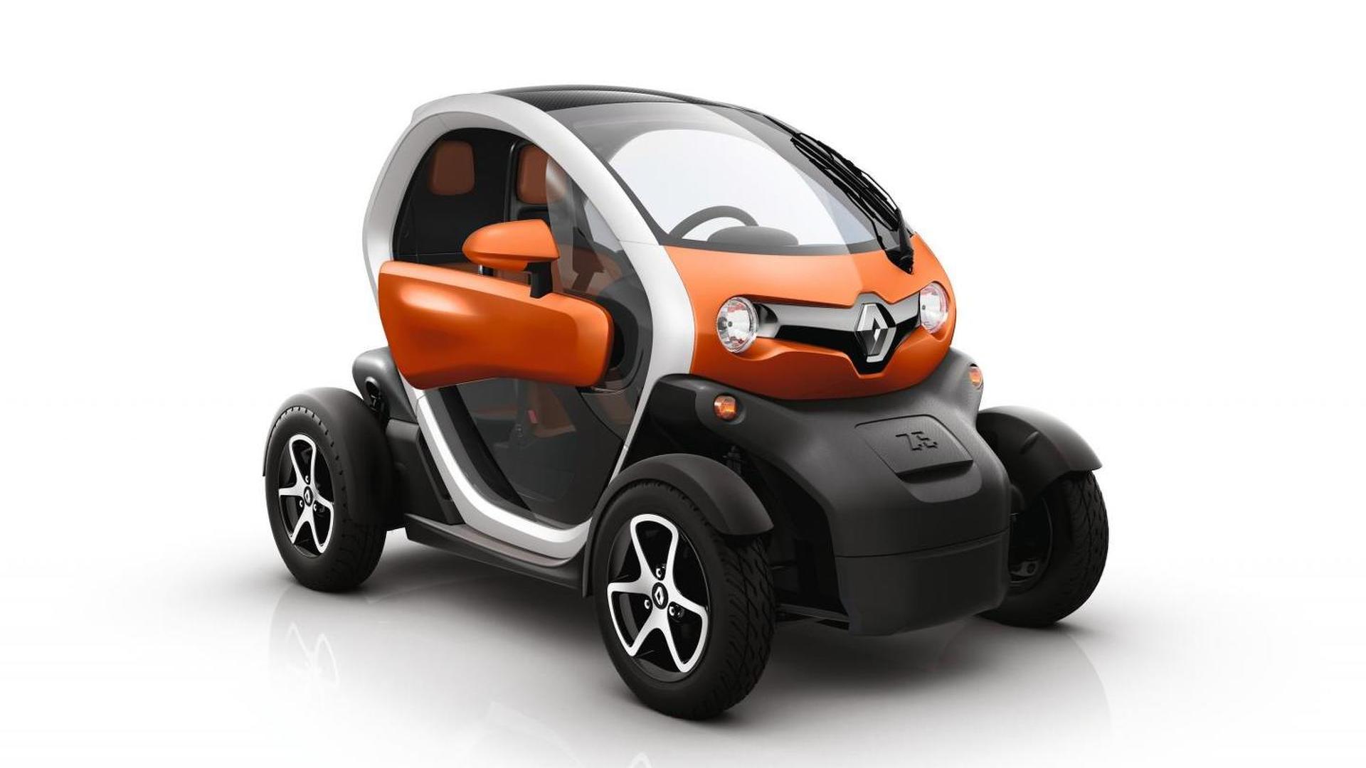 Электрокар Twizy Renault Sport F1 оказался быстрым, как ...
