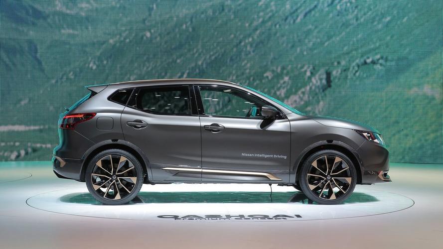 Nissan Qashqai ve X-Trail'ın ateşli Premium konseptleri