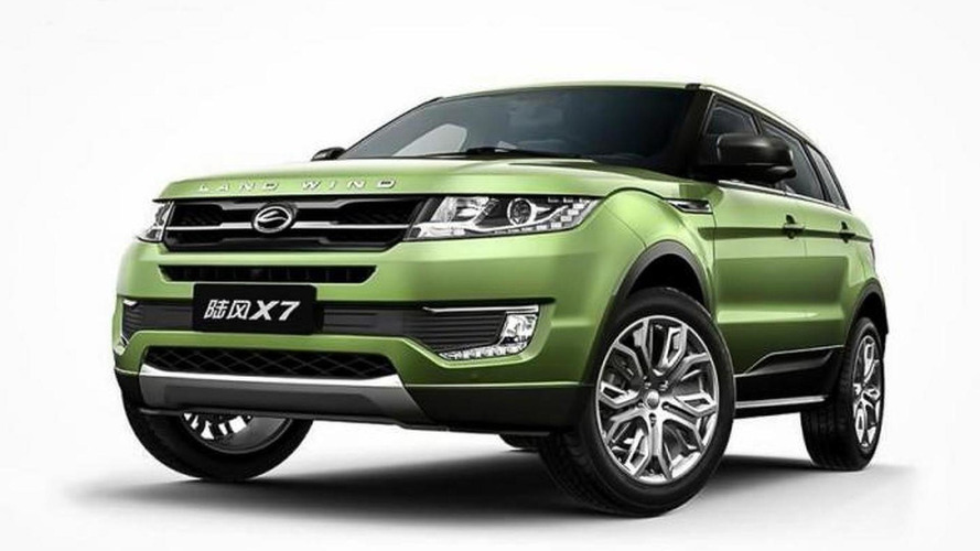 Chinese Evoque copycat sued by Jaguar Land Rover