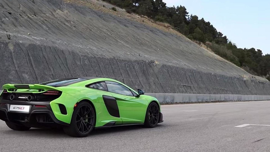 McLaren celebrates 675LT production kick off with 4K video on track