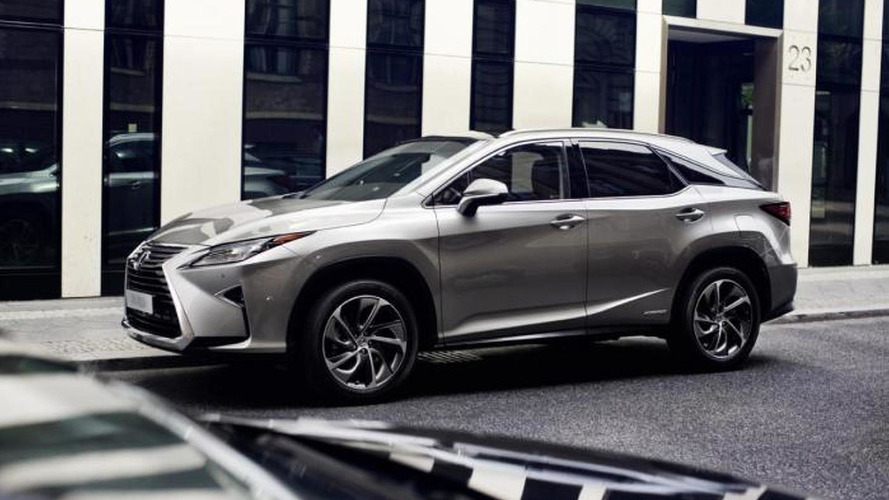 Euro-spec Lexus RX gets previewed ahead of Frankfurt
