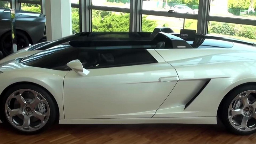 Auction-bound one-off Lamborghini Concept S filmed up close and personal