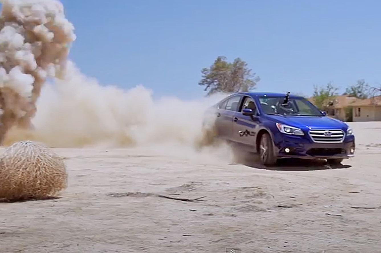 Roadkill vs. Subaru Legacy: The Winner Is… [w/Video]
