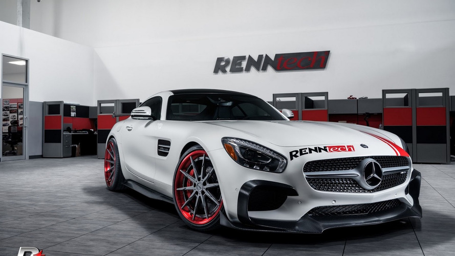 Mercedes-AMG GT S by RENNtech upgraded to 716 hp