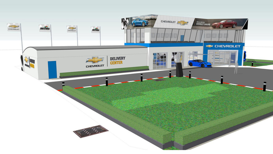 Chevy to open a delivery center at Daytona, allow customers to drive on track