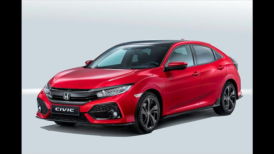 Honda Civic: Langer Zehner
