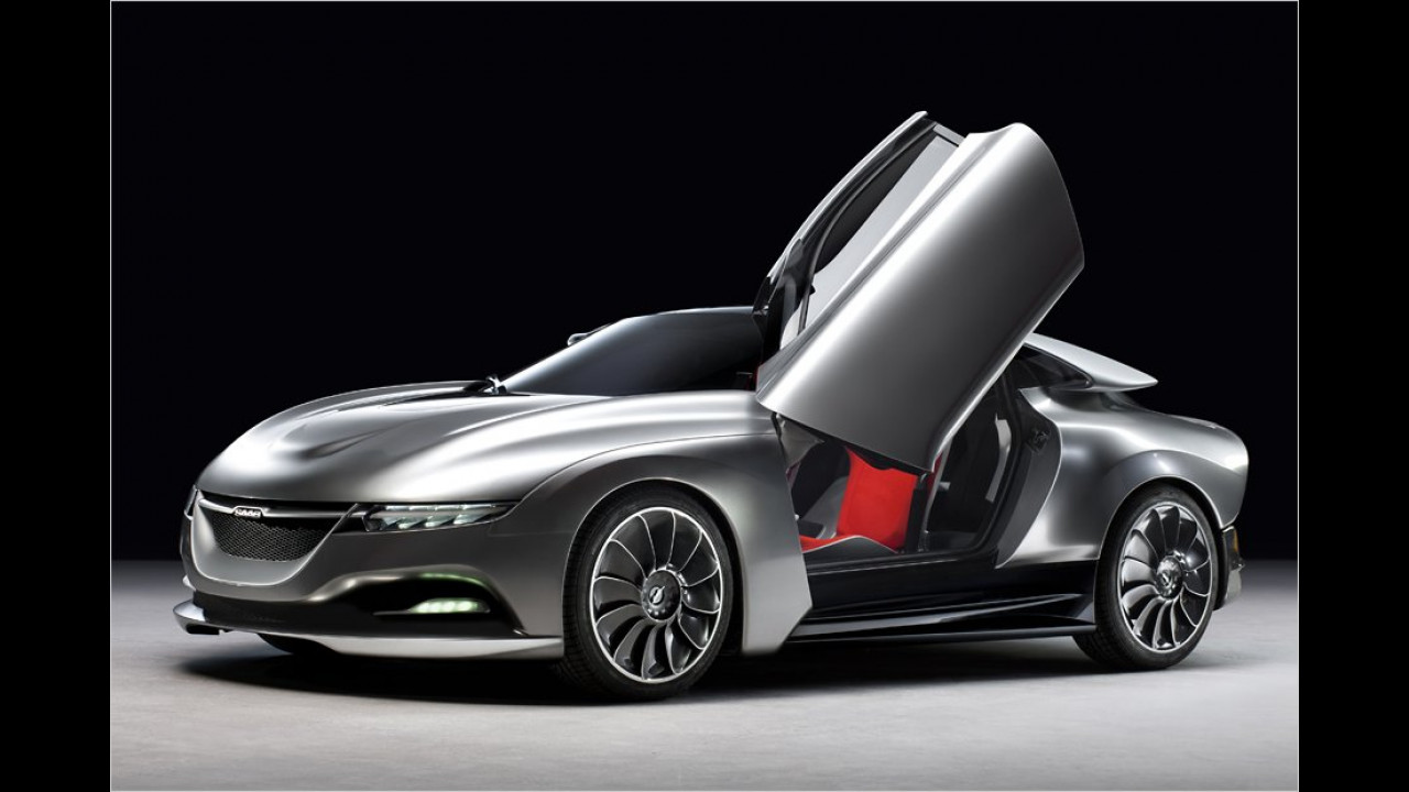 Saab PhoeniX Concept: Das letzte Lebenszeichen der schwedischen Marke gab es Im Frühjahr 2011 in Form dieser stylischen Hybrid-Studie