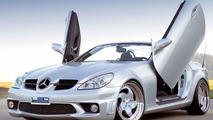 SLK roadster with LSD Doors
