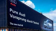 Audi A8 UK advertisement