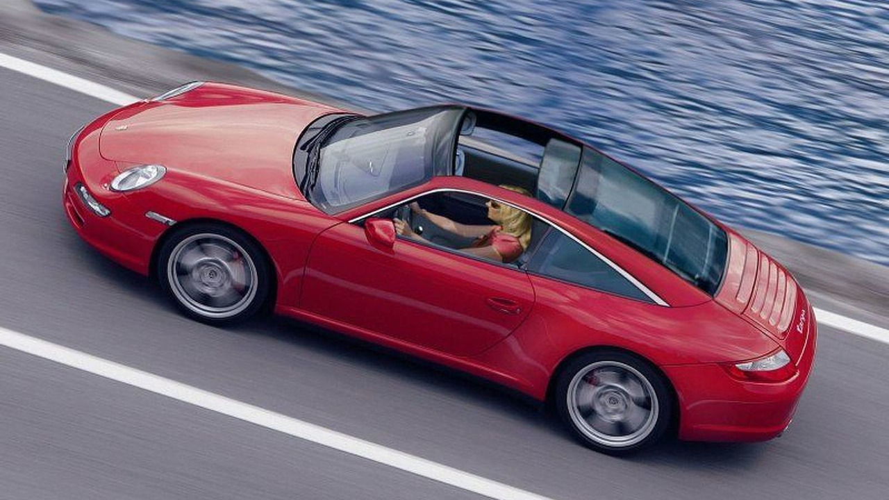 Porsche 911 Targa Computer Generated Image