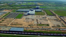 Construction site of future Panamera plant