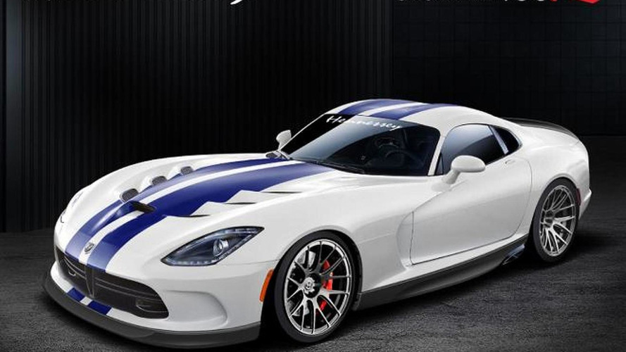 700+ bhp Hennessey tests its 2013 Viper GTS Venom 700R [video]