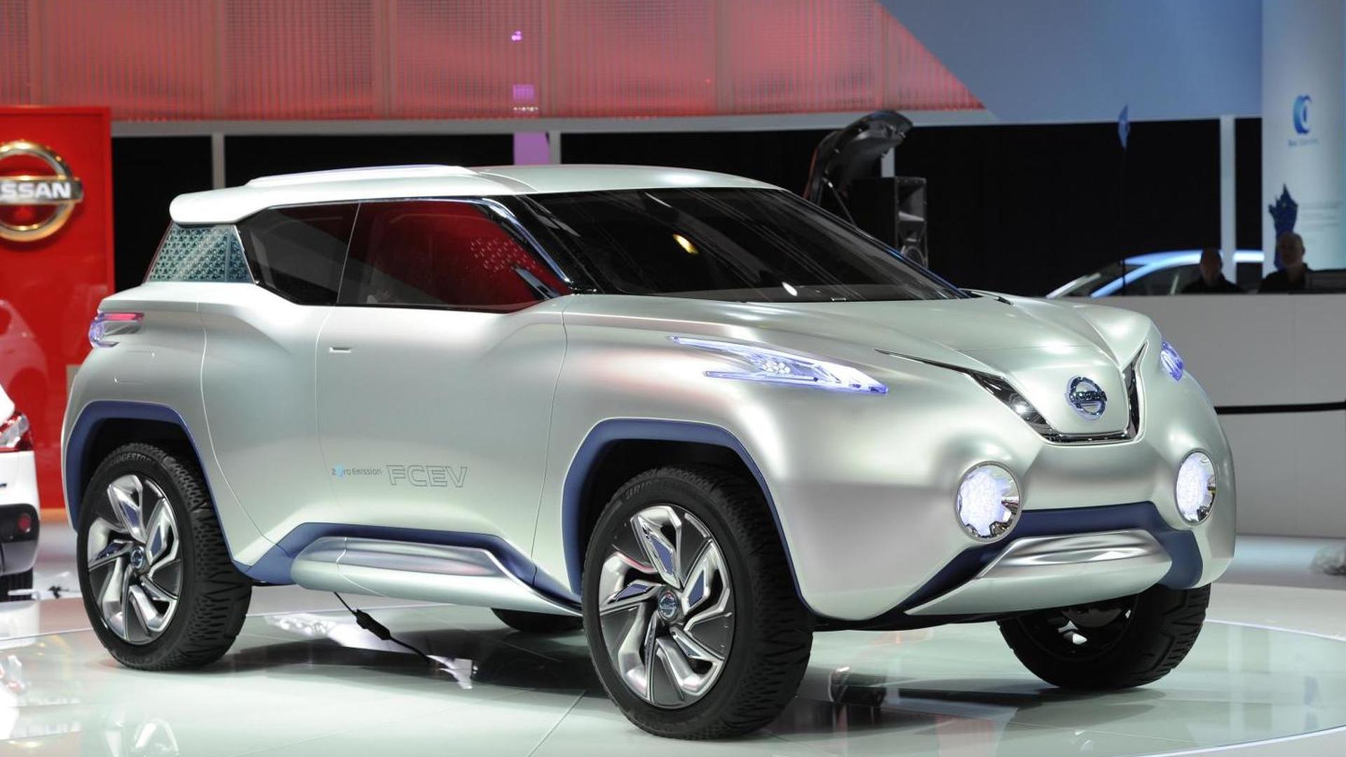 Nissan terra concept presented in paris vanachro Choice Image