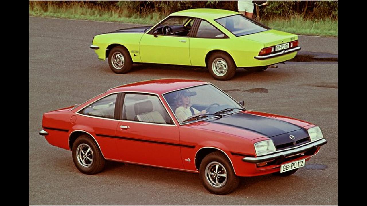 40 Jahre Opel Manta