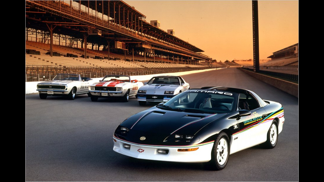 Camaro Indy 500 Pace Cars (1993)