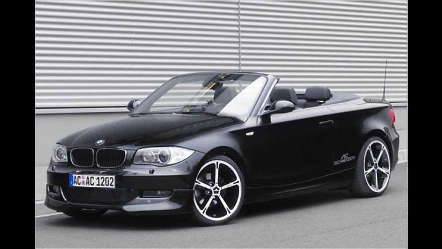AC Schnitzer BMW 1er Cabrio: Oben soft und unten knackig