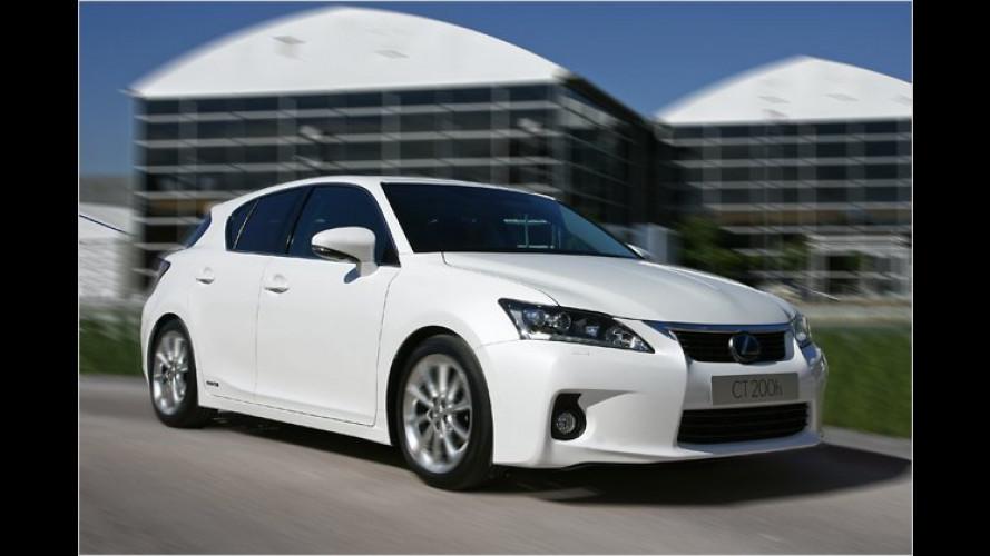 Lexus CT 200h: Preise und Ausstattungen bekannt