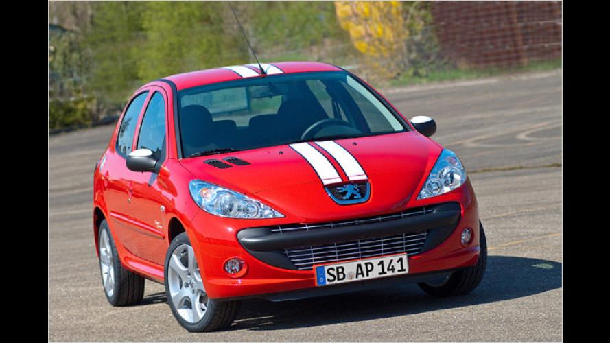 Sportliches Sondermodell: Der Peugeot 206+ Street Racing