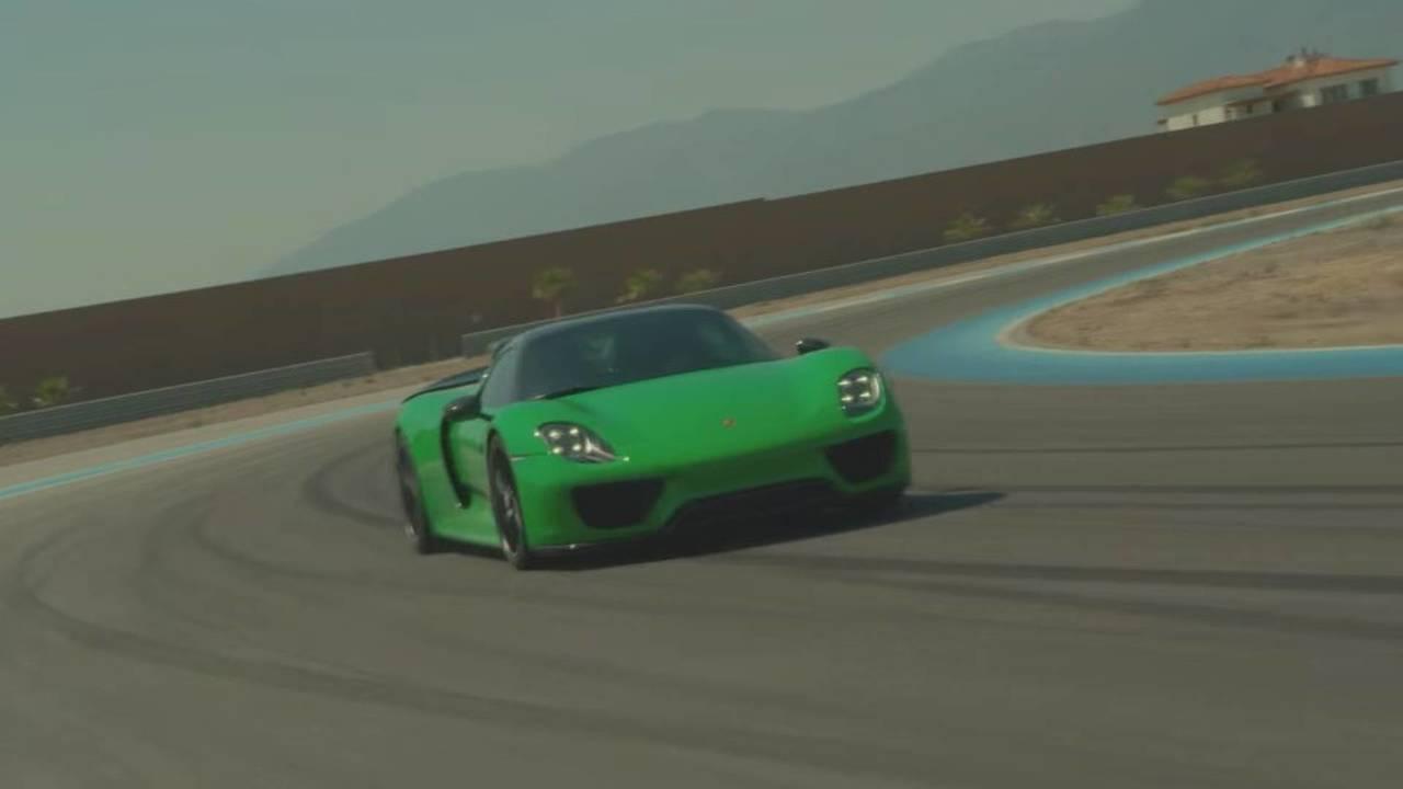 Porsche 918 Spyder And Porshce 911 R Thermal Race Club