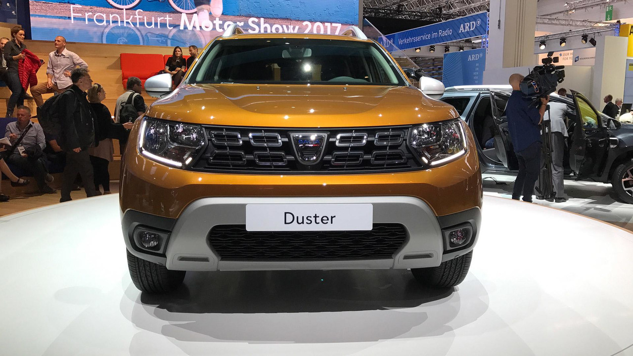 2018 dacia duster revealed. Black Bedroom Furniture Sets. Home Design Ideas