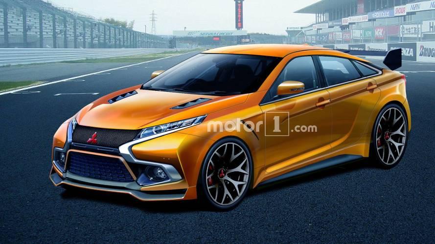 Imagining A Future In Which The Mitsubishi Evo Is Still A Sedan