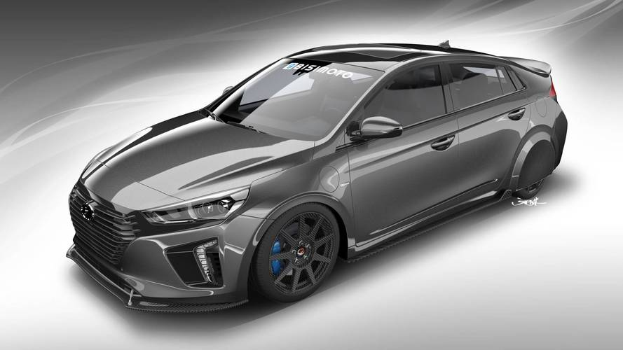 Hyundai shows off super-frugal tuned Ioniq at SEMA Show in Vegas