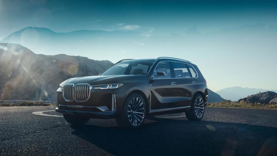 BMW Concept X7 iPerformance - Colossal et technologique