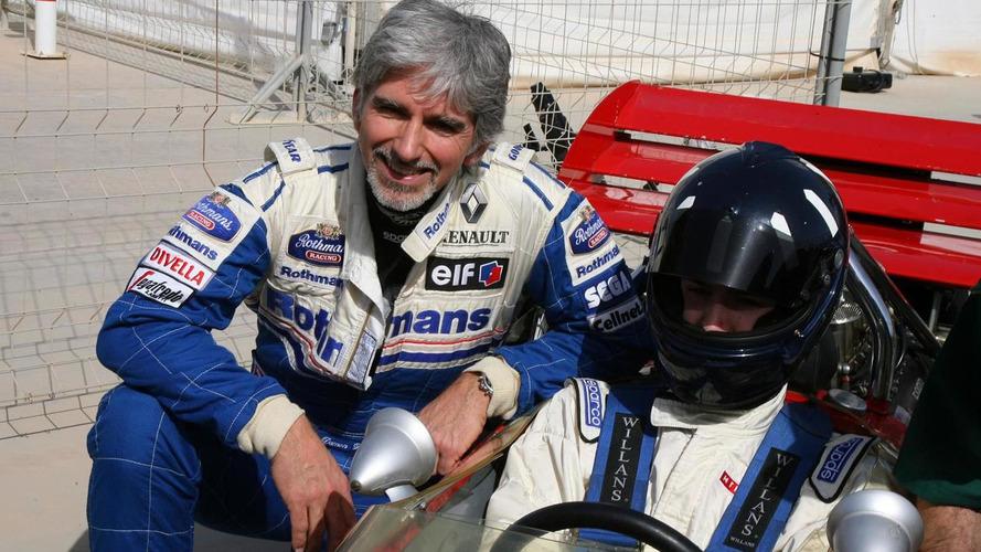 Damon Hill's son quits motor racing