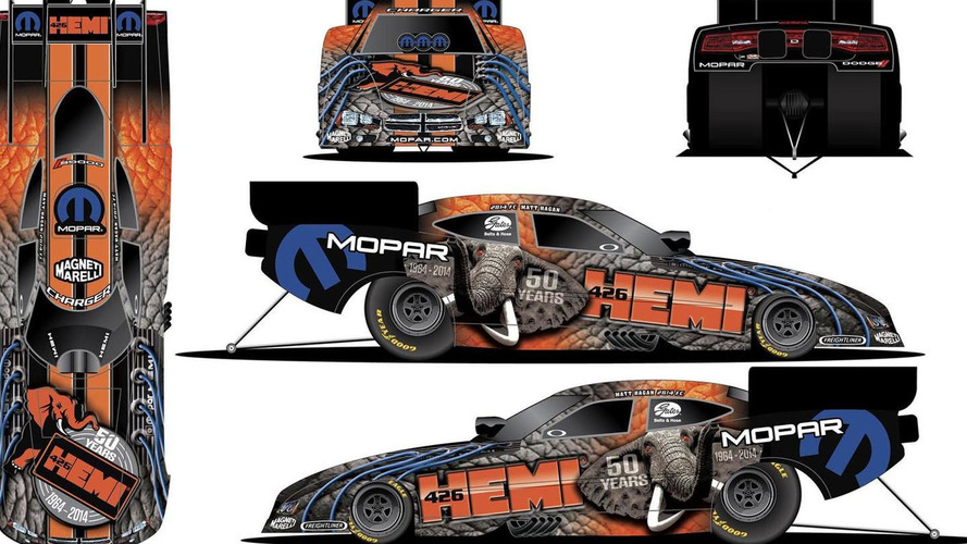 Dodge Dart Pro Stock unveiled, will compete in the NHRA Gatornationals this weekend