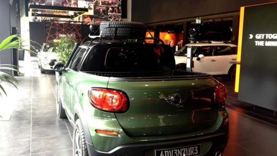 MINI Paceman pickup created by BMW interns