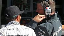 Lewis Hamilton with Ross Brawn 04.10.2013 Korean Grand Prix