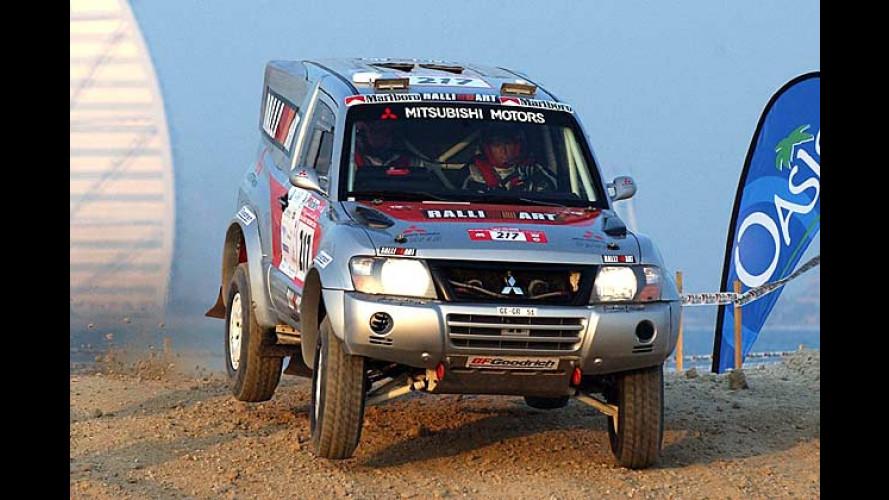 Rallye Dakar: Zwei deutsche Damen kämpfen im Wüstensand