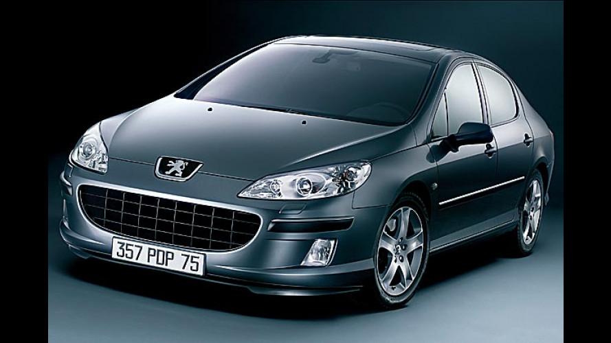 Peugeot 407: Mutige Limousine mit gierigem Maul