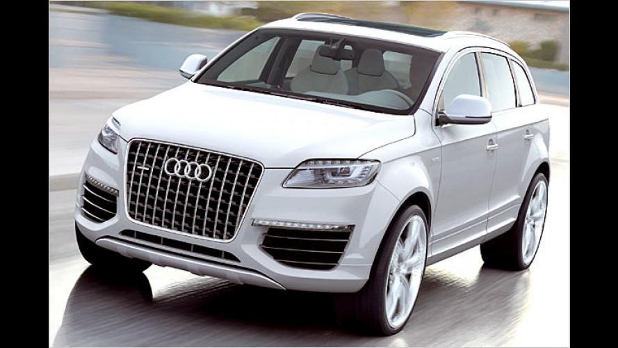 Audi Q7 V12-TDI: 12-Zylinder-Diesel mit Bluetec-System