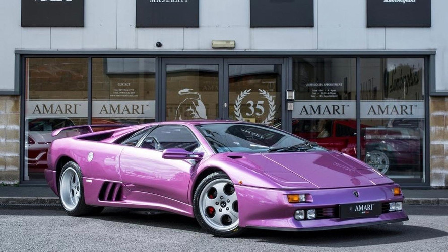 Cosmic Girl Lamborghini