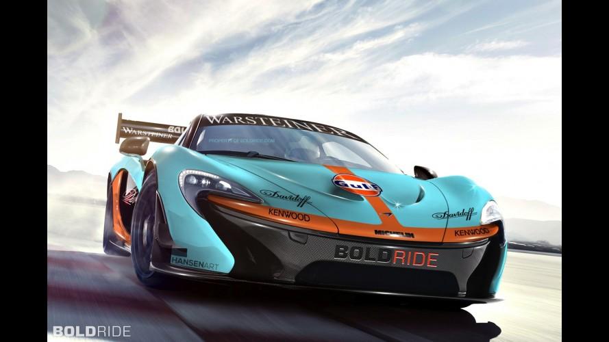 McLaren P1 GTR Concept