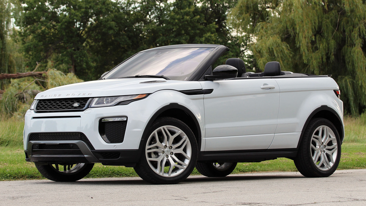 2017 land rover range rover evoque convertible first drive photos. Black Bedroom Furniture Sets. Home Design Ideas