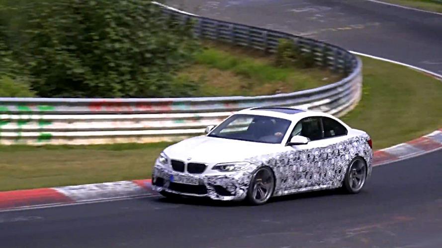 Vidéo - Une BMW M2 plus véloce en préparation ?