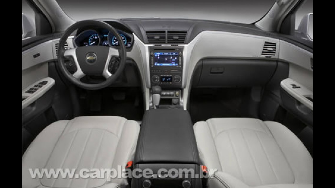 Chevrolet mostrará o novo Crossover Traverse no Salão do Automóvel de SP
