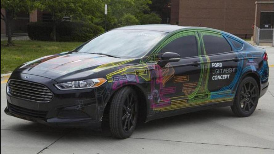 Ford Lightweight Concept: la Mondeo pesa come una Fiesta
