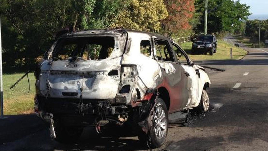 Ford says Everest fire is isolated incident