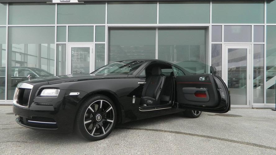 Rolls-Royce Wraith Carbon Fiber isn't actually lighter
