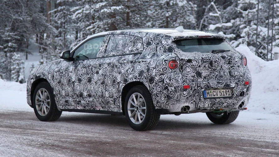 BMW X2 2017 photos espion