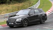 2017 Bentley Bentayga Speed spy photo