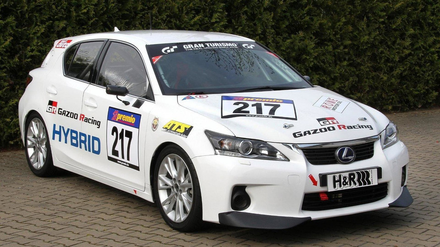 Lexus CT 200h to contest VLN Nürburgring race with Gazoo Racing