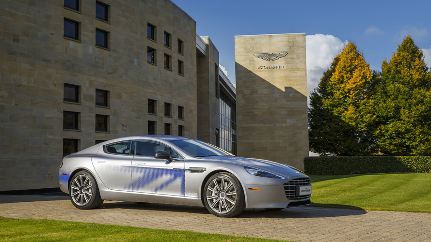 Aston Martin RapidE concept unveiled
