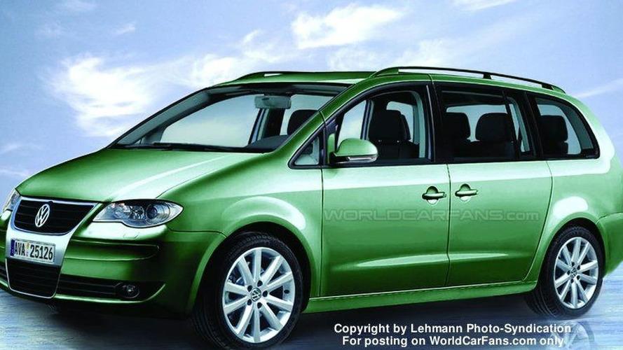 SPY PHOTOS: VW Sharan Next Generation